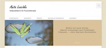Screenshot Anita-Leschke.de