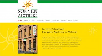 Screenshot Sonnen Apotheke