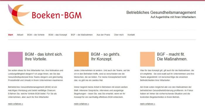 Screenshot Boeken-BGM.de