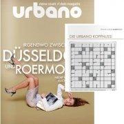 Kreuzworträtsel auf urbano Stadtmagazin Cover