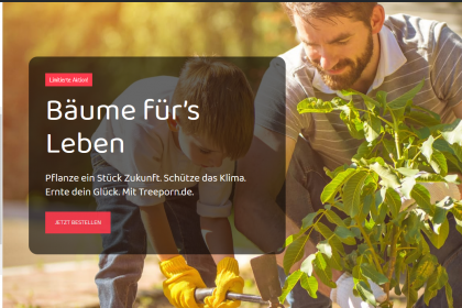 Screenshot von treeporn.de
